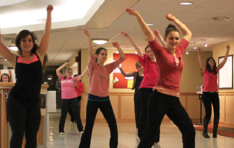 Flash Mob Joins the One Billion Rising