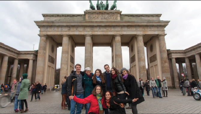 TA's Reunite in Berlin