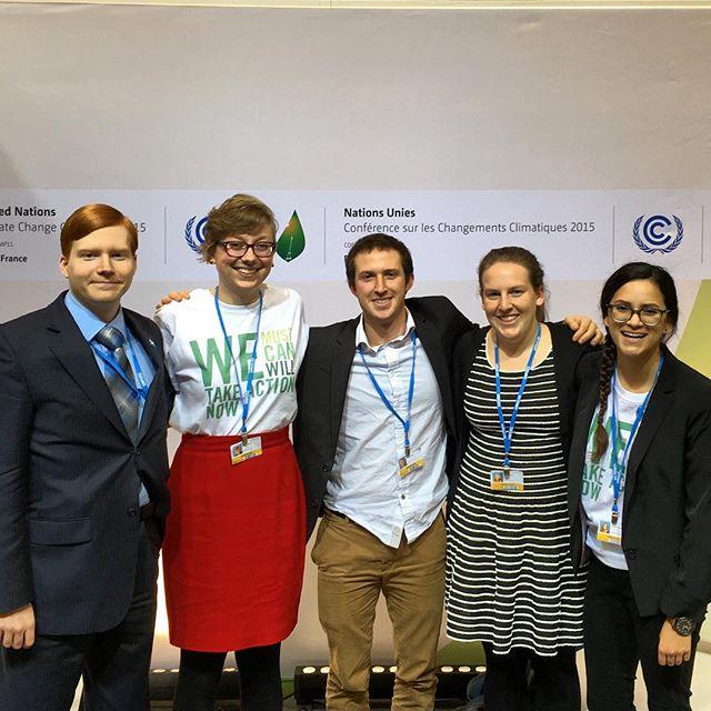 Six Attend Paris UN Conference