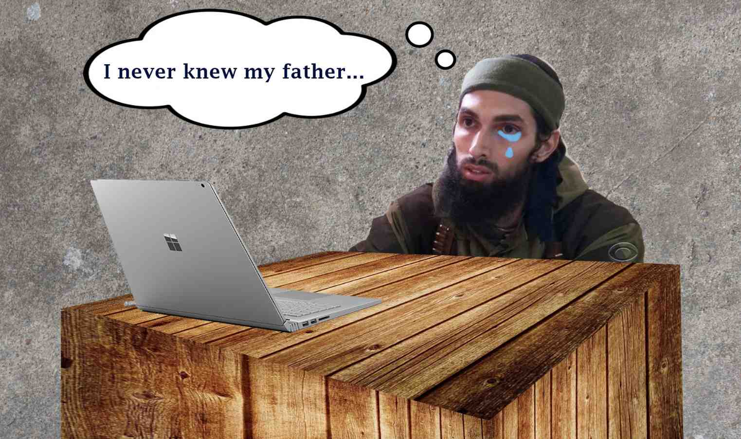 A young ISIS member mourns the loss of his father and his life choices.