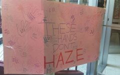 Greek Organizations Speak out against Hazing