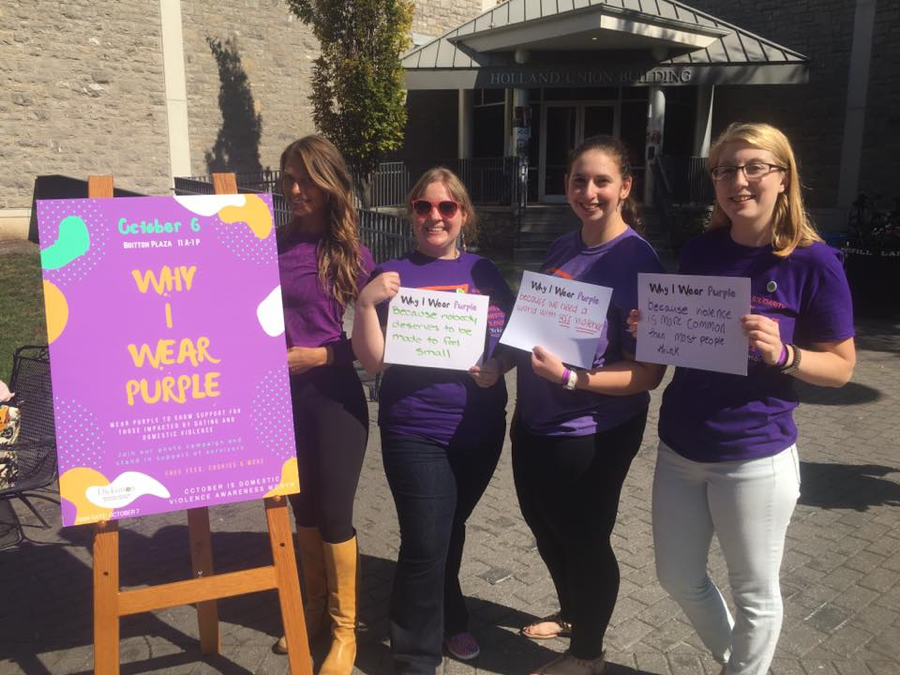 """Why I Wear Purple"" Event Takes Britton By Storm"