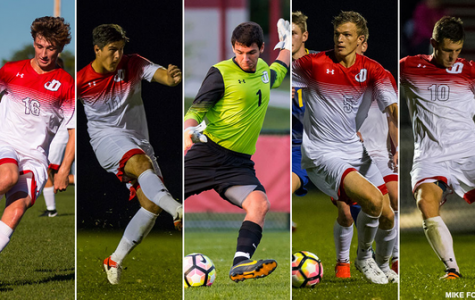 Men's Soccer Stars Make All-Centennial Conference Squad