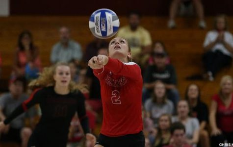 Women's Volleyball Finishes Fall Season at .500