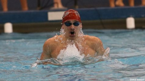 Dickinson Men Swim to Sixth in CC Champs