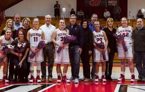 Women's Basketball Shines on Senior Day