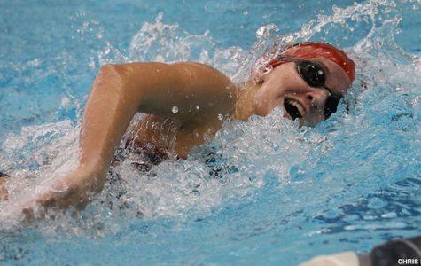 Women's Swimming Splits Home Series