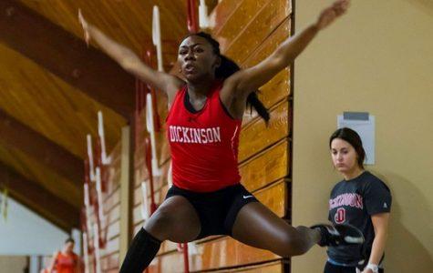 Women's Track Wins DuCharme