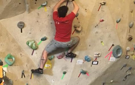 Climbing Wall Tournament Fosters Friendly Competition