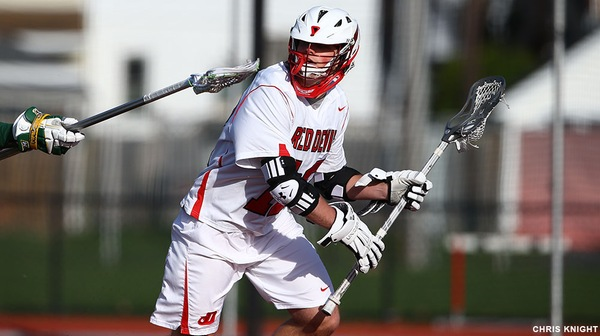 The Dickinson men's lacrosse team earned its second consecutive win of the season against Montclair State.