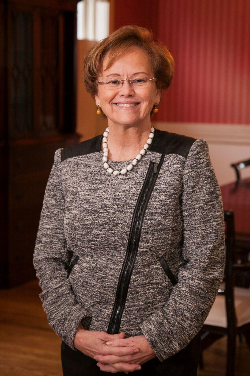Dr. Margee Ensign, incoming president, visited campus on Tuesday, Feb. 8.