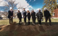 Groundbreaking Ceremony Takes Place for New Dorm