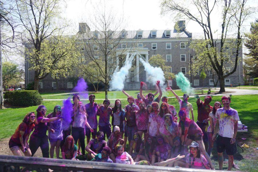 W.I.N.D. Hosts Colorful Celebration for Holi