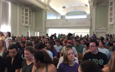 Hundreds of Students Gather to Take Back the Night in Support of Survivors of Sexual Assault