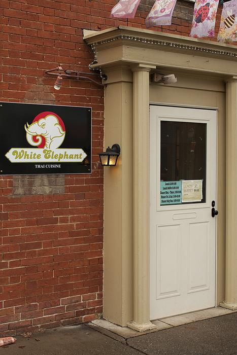 Amy's Thai has changed ownership and is now called the White Elephant.