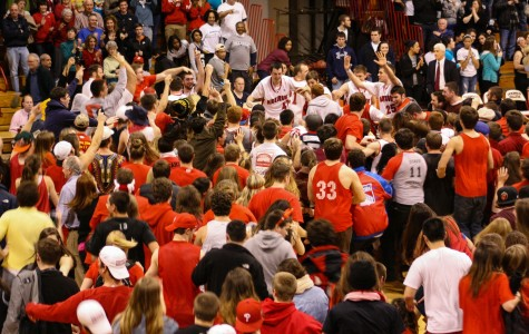 Court-Storming Puts Devils in Spotlight
