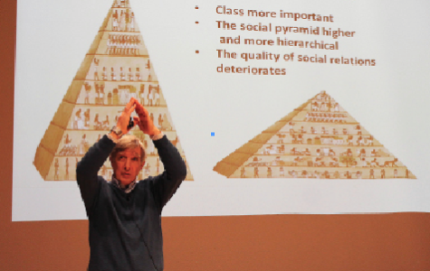 Professor Debates Inequality