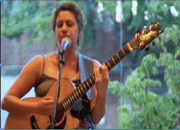 One of many performers during this year's Carlisle's First Friday Music Walk on Friday, Sept. 6.