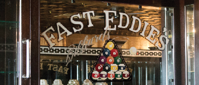 Fast Eddie's Billiard Parlor and Saloon, a local hangout, closed this summer.