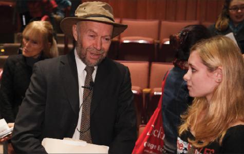 James Hansen Speaks as Priestley Winner