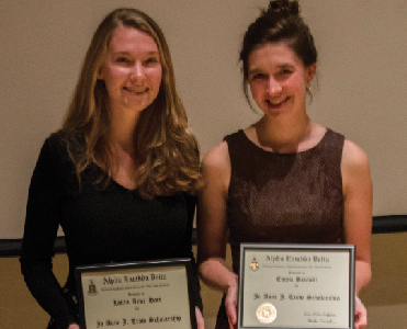 Students Win Prestigious  ALD Scholarships