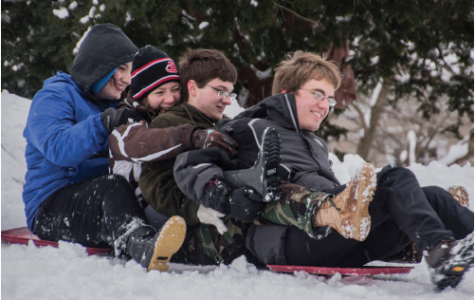 Students Dig Out After Blizzards