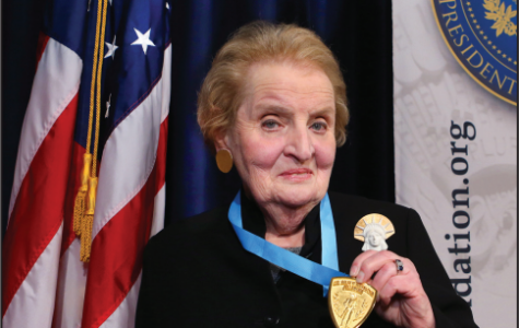 Albright to Deliver  Commencement Speech