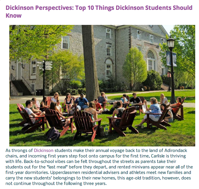 Savanna+Riley+%2717+wrote+%27The+Top+10+Things+Dickinson+Students+Should+Know%27+for+the+Senate+and+Cumberland+Valley+co-sponsored+blog.