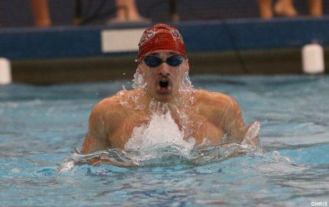 Dickinson Men Swim to Sixth in CC Champs