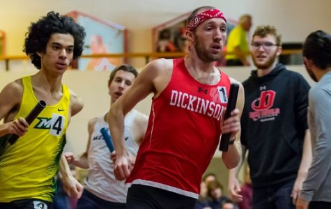 Men's Track Places Third at DuCharme Invitational