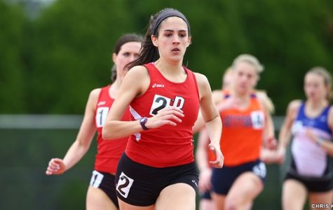 Track and Field Competes at Bison Open