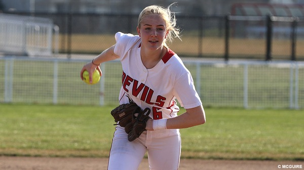 The Dickinson softball team split their first double-header of the season with Mary Washington.