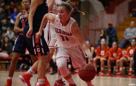 Women's Basketball Falls in First Round of Playoffs