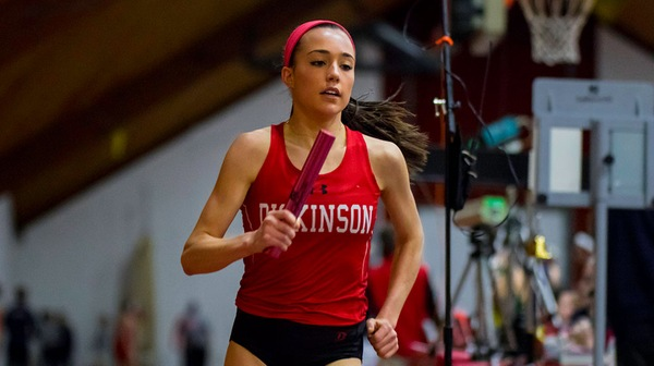 The Dickinson men's and women's track & field teams competed at the Bucknell Distance Carnival.