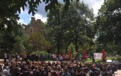 Students Demonstrate in Solidarity of DACA Recipients