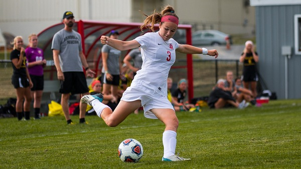 The Dickinson women's soccer team remained perfect on the season after an overtime thriller.