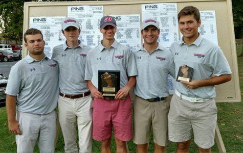 Men's Golf First at Gettysburg