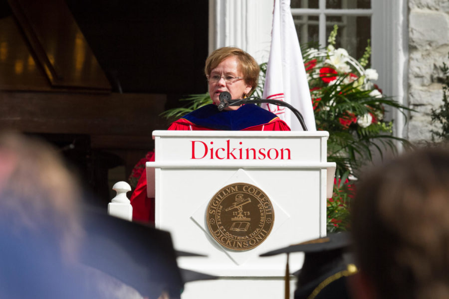 """Our Graduates Will Build a Better World"" President Margee Ensign Inaugurated During Homecoming Weekend"