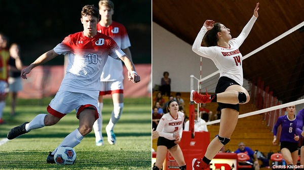 Dozens of Dickinson student-athletes made the Fall Centennial Conference Academic Honor Roll.