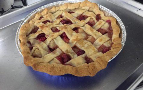 Batter Up: Pear & Cranberry Pie