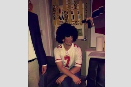 Costume Incites Controversy Photo of Student's Halloween Costume Prompts Backlash