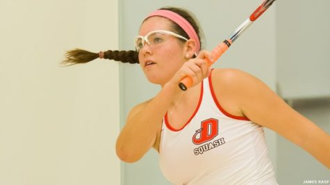 Squash Faces Off Against Cornell, Williams