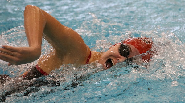The Dickinson women's swim team won both of their contests in a tai-match at Lebanon Valley College on Sunday.