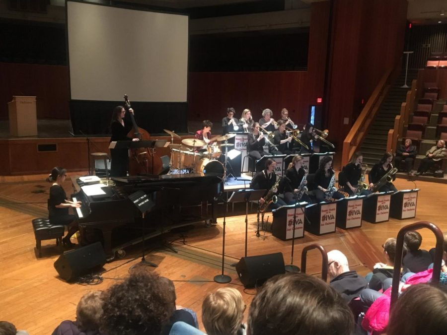All-Female Jazz Band Visits as Artists-in-Residence
