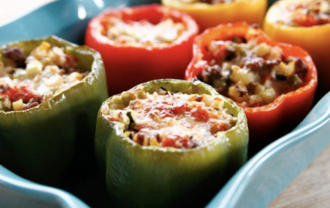 Food for Thought:  Stuffed Bell Peppers