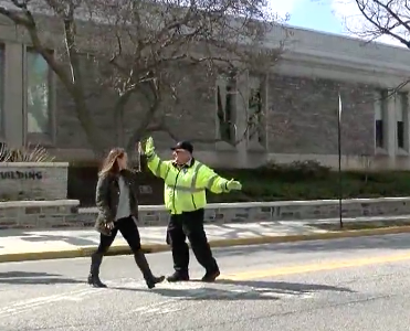 Beloved Crossing Guard Promoted to DPS Officer