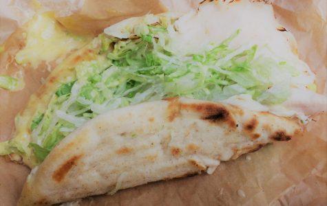 Caf Creation: Hummus and Turkey Pita