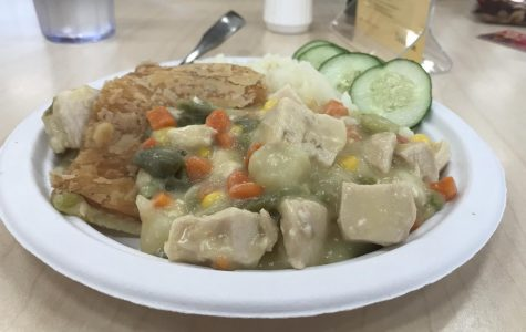 Caf Review: Chicken Pot Pie and Potatoes