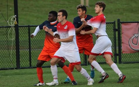 Men's Soccer Moves to First in Centennial Conference
