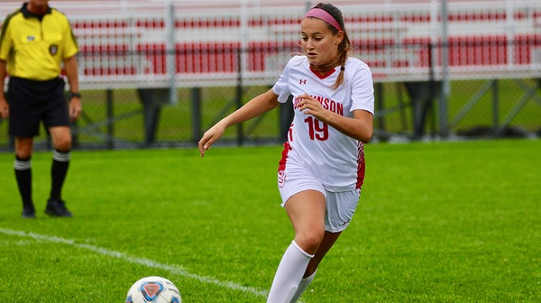 The Dickinson College women's soccer team fell to Ursinus in the final seconds of overtime.